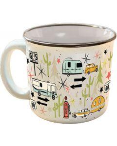 The Mug-Wanderlust White - The Mug