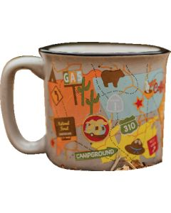 The Mug-Travel Map - The Mug