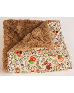 The Throw-Cozy Critters-Tan - The Throw