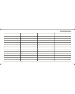 Dometic RV Ventls300 Single Pk Polar Wht - Refrigerator Vents