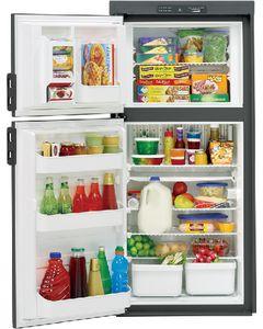 Dometic RV Refr 8Cf 2-Way - Americana Double Door Built-In Refrigerator