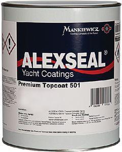 Alexseal Premium Topcoat 501, Whisper Gray, Qt.