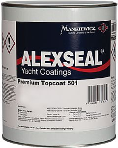 Alexseal Premium Topcoat 501, Dark Gray, Qt.