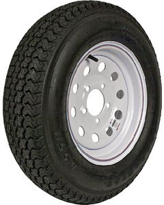 "Loadstar Tires 14"" Bias And St Radial Tire And Wheel Assemblies"