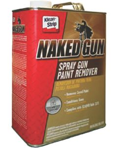 Damp Rid Naked Gun® Spray Gun Paint Remover, Gal.