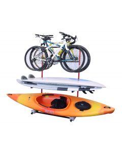 Malone FS Rack™ 3 Bike, 2 SUP, 1 Kayak Storage Rack