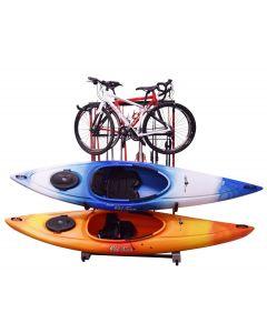 Malone FS Rack™ 3 Bike, 2 Kayak, 6 Ski Storage Rack