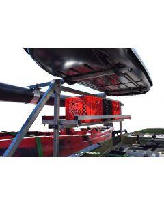MegaSport Milk Crate Cage w/ Mounting Hrdwr