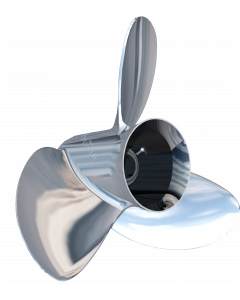 "Turning Point Propellers Express Mach3 OS OS-1619 () 15.6"" x 19"" pitch Standard Rotation 3 Blade Stainless Steel Boat Propeller"