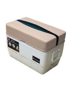 Wise Premier Pontoon 48 Quart Igloo Cooler with Cushion