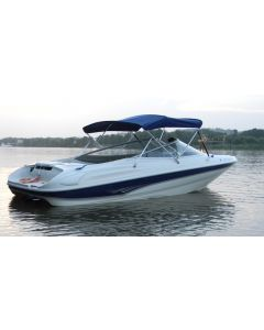 """Carver® 4 Bow Round Tube Bimini Top - Fits 91""""-96"""" Width x 48"""" Height x 8' Length"""