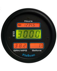 Floscan 9000-20B-1 Series 9000 Multi-Function Fuel Meter I/B, I/O, O/B Up to 350HP