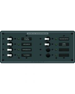 Blue Sea Systems Branch Circuit Breaker Panel, 8-Position