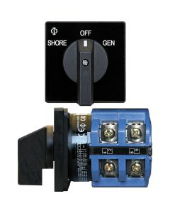 Blue Sea Systems 65A Switch, 2 Positions + OFF, 2-Pole