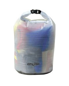 "Dry Pak Roll Top Dry Gear Bag - 11-1/2"" x 19"" - Clear"