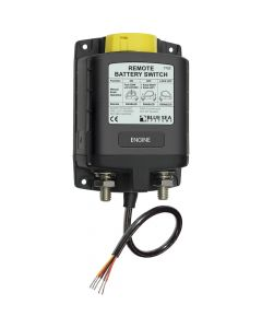 Blue Sea Systems Blue Sea 7702 ML-Series Remote Battery Switch w/ Manual Control 24V DC