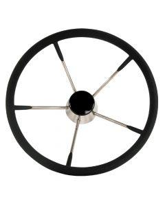 Whitecap Destroyer Steering Wheel - Black Foam, 15 Diameter