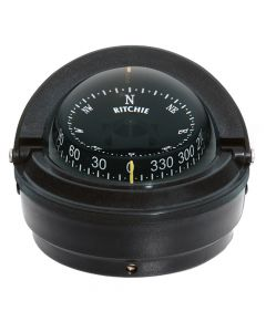 Ritchie S-87 Voyager Surface Mount Compass (Black)