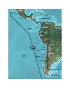 Garmin BlueChart G2 HXSA002R South America West Coast MicroSD/SD