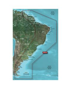 Garmin BlueChart G2 Vision VSA001R South America East Coast