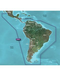 Garmin HXSA500L G2 Bluechart - South America