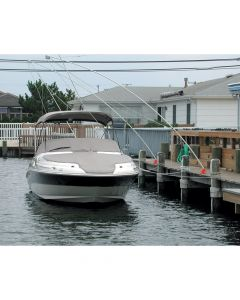 Monarch Mooring Whip Monarch Nor'Easter 2 Piece Mooring Whips f/Boats up to 23'
