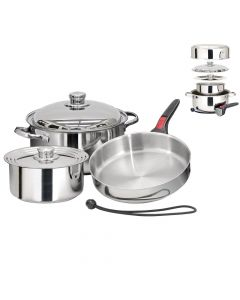 Magma, Nestable 7 Piece Induction Cookware, Grill Accessories