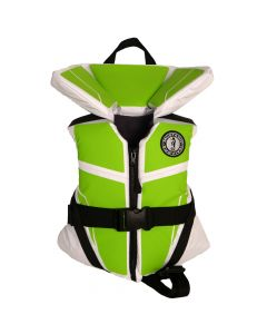 Mustang Lil' Legends 100 Child Vest - 30-50lbs - Green Apple/White