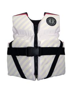 Mustang Lil' Legends 70 Youth Vest - 50-90lbs - Pink/White