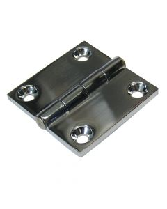 "Whitecap Butt Hinge - 316 Stainless Steel - 2"" x 2"""