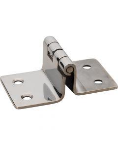 Whitecap Folding Seat Hinge - 304 Stainless Steel - 2 x 3-3/16
