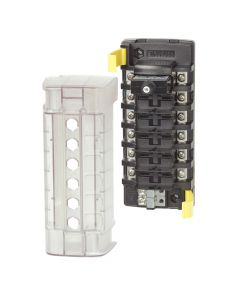 Blue Sea Systems 5050 ST CLB Circuit Breaker Block - 6 Position