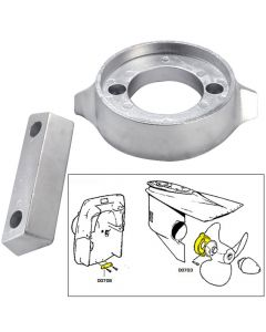 Tecnoseal Anode Kit w/Hardware - Volvo 290 - Zinc