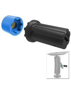 Ram Mounts RAM Mount Mixed Combination Pin-Lock Security Nut & Key Knob f/2.25/3.38 Diameter D/E Size Arms