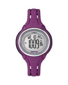 Timex Ironman Sleek 50-Lap Mid-Size Watch - Plum