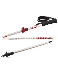 Yukon Flipout Trekking Poles - Aluminum - Red/Silver
