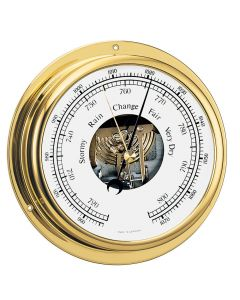 Barigo Viking Series Ship's Barometer - Brass Housing - 5 Dial