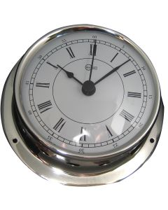 Barigo Sky Series Quartz Ship's Clock - Stainless Steel Housing - 3.3 Dial