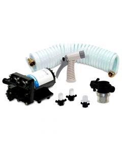 Shurflo BLASTER II Washdown Kit - 12VDC, 3.5GPM w/25' Hose, Nozzle, Strainer & Fittings