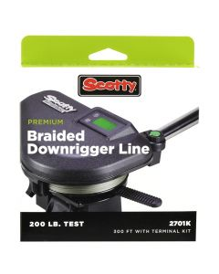 Scotty Downriggers Scotty Premium Power Braid Downrigger Line Hi-Vis Yellow - 200lb Test - 300'