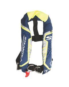 Stearns C-Tek 38G A/M Inflatable Life Vest - Blue/Yellow