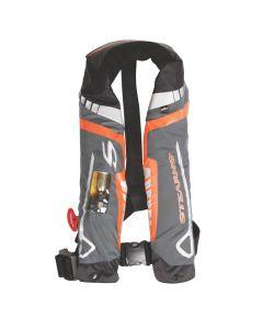 Stearns C-Tek 33G A/M Inflatable Life Vest - Orange/Gray
