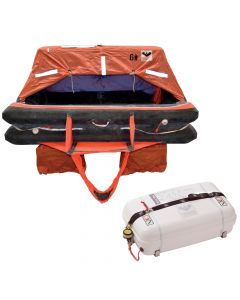 VIKING Coastal Life Raft 4 Person Low Profile Container