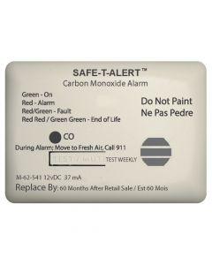 Safe-T-Alert 62 Series Carbon Monoxide Alarm w/Relay - 12V - 62-541-Marine-RLY-NC - Surface Mount - White