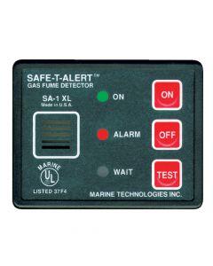 Safe-T-Alert Gas Vapor Fume Alarm - Surface Mount - Black