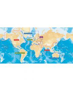 Navionics+ Flexible Coverage - World Wide Coverage - CF Format
