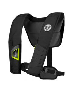 Mustang Survival Mustang DLX 38 Deluxe Automatic Inflatable PFD - Black/Fluorescent Yellow-Green