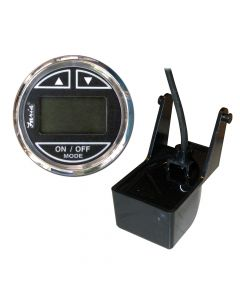 Faria Chesapeake SS Black 2 Depth Sounder w/Transom Mount Transducer