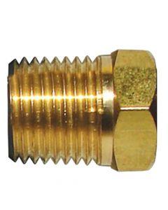 Tecnoseal Brass Cap f/M8 Pencil Zinc