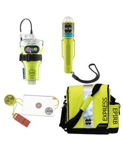 ACR Electronics ACR EPIRB Safety Kit #2 - w/GlobalFix V4 Cat II, RapidDitch Express Bag, C-Strobe H20, HotShot Mirror Whistle